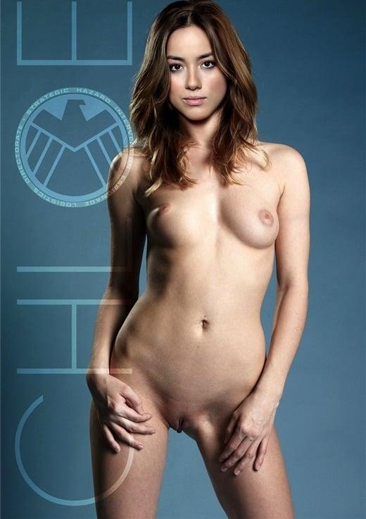 Chloe Bennet nude