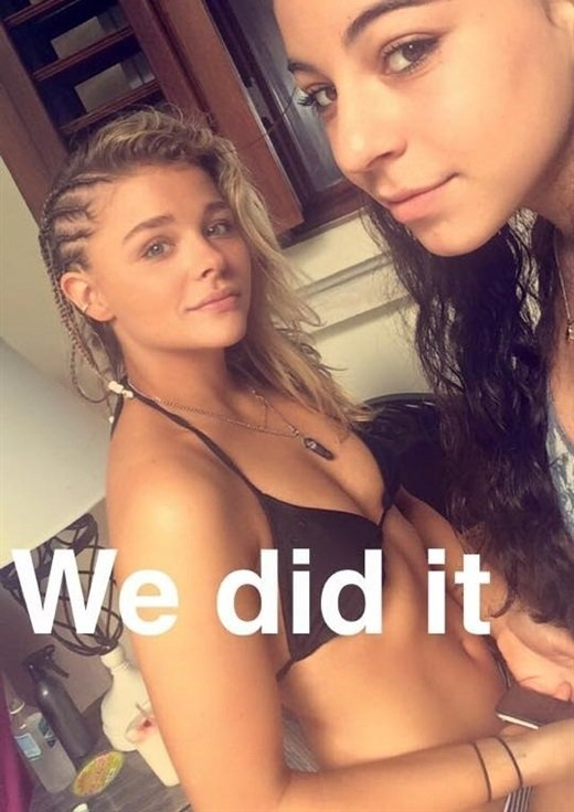 Chloe Grace Moretz bikini