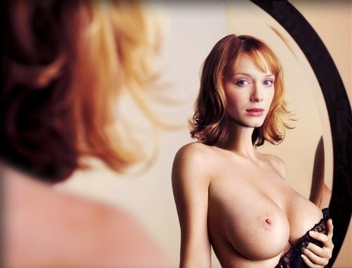 Christina Hendricks topless