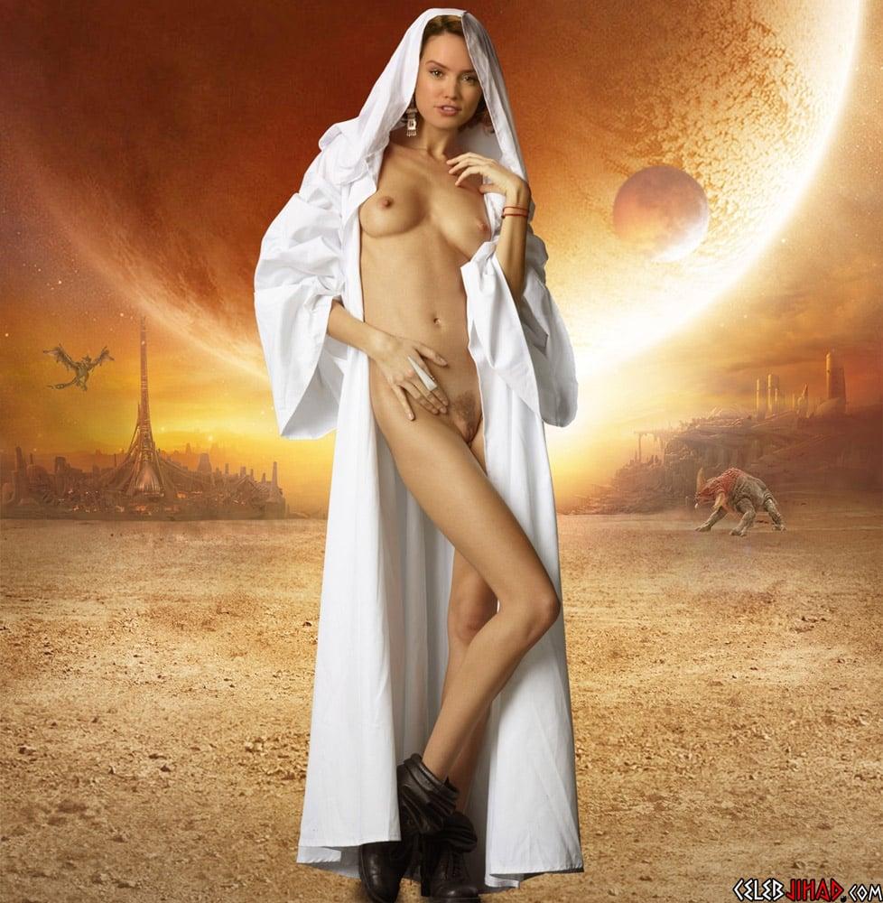 Daisy Ridley nude star wars