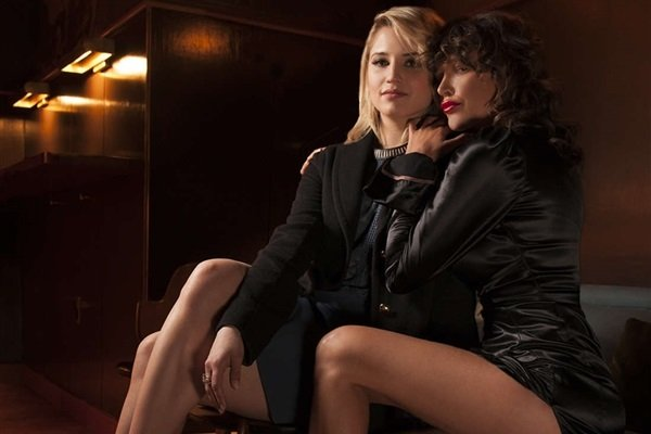 """Dianna Agron's Nude Lesbian Sex Scene From """"Bare"""""""