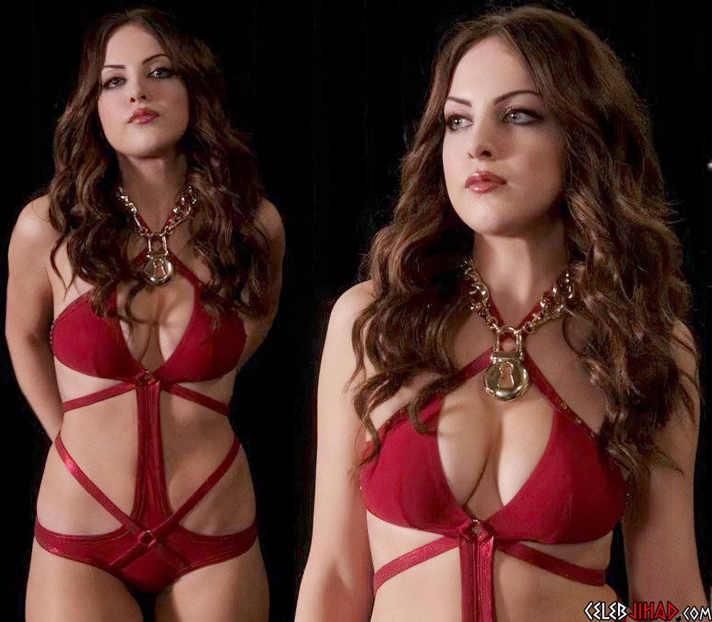 Elizabeth Gillies sexy swimsuit