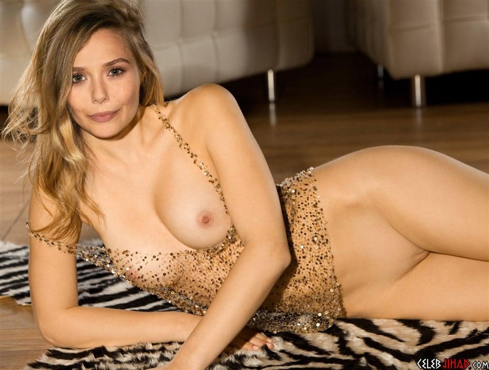 Elizabeth Olsen Photographed Laying Naked