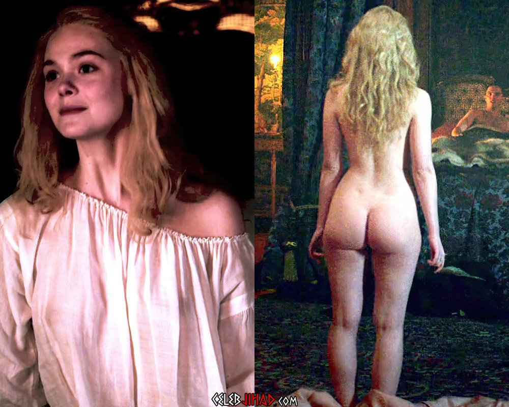 "Elle Fanning's First Ever Nude Scene From ""The Great"""