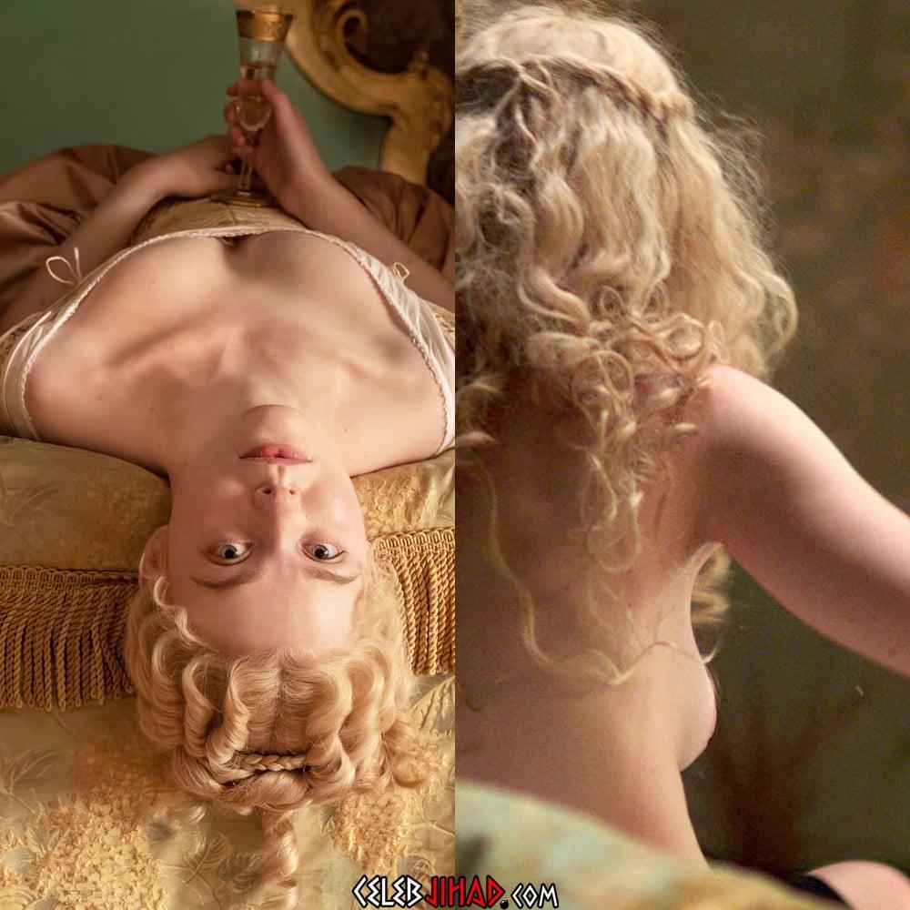 Elle Fanning голые сиськи