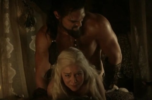Game of thrones khaleesi sex scenes