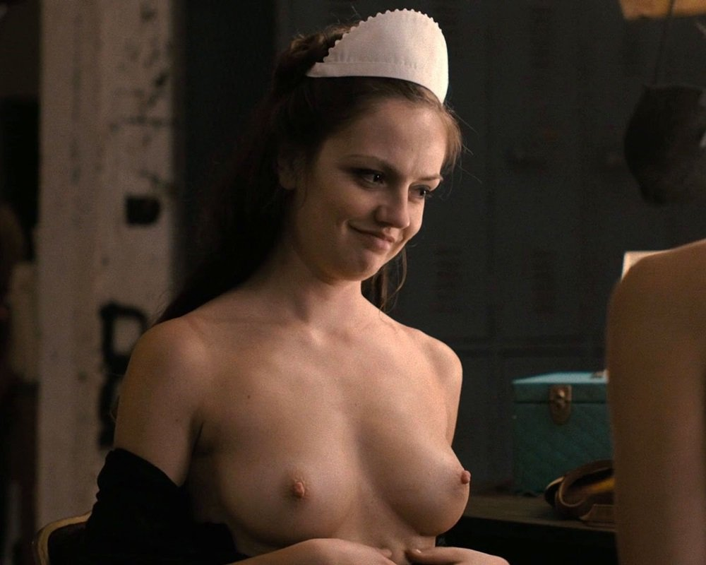 Emily Meade topless nude