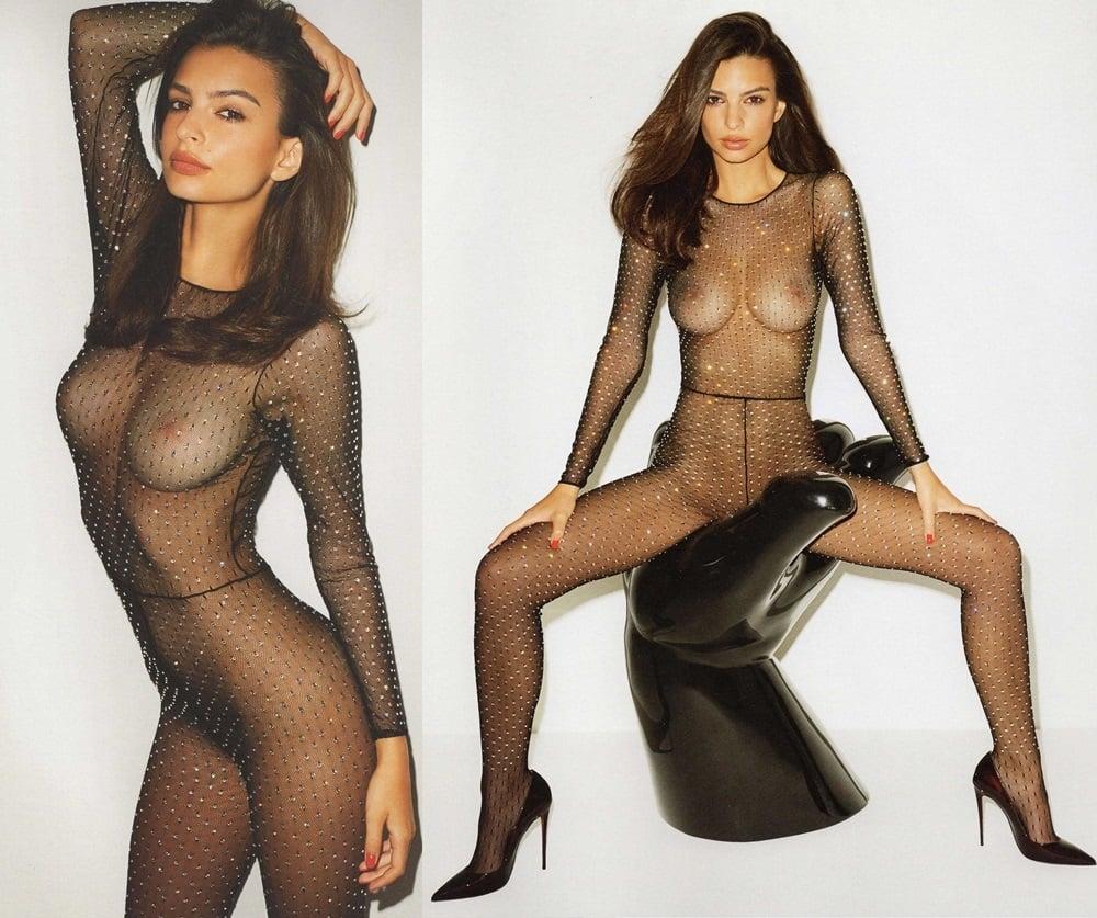 Emily Ratajkowski nude outtake