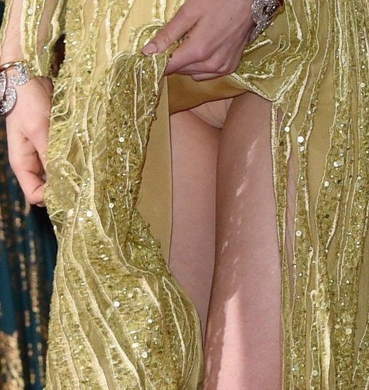 Emma Stone Oscars panties