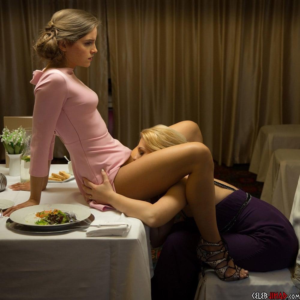 Celebrity lesbian scenes