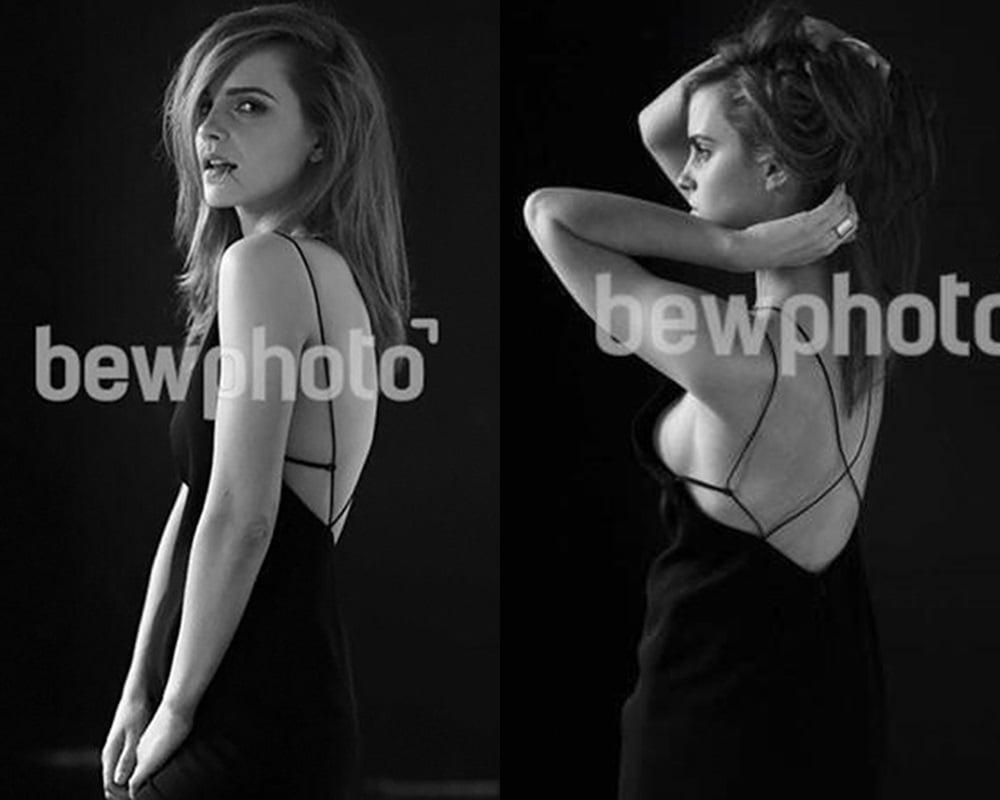 Emma Watson side boob