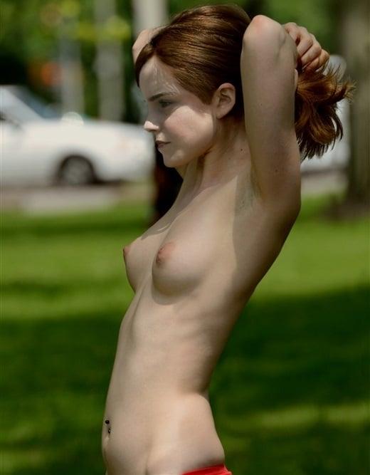 Naked ass close up