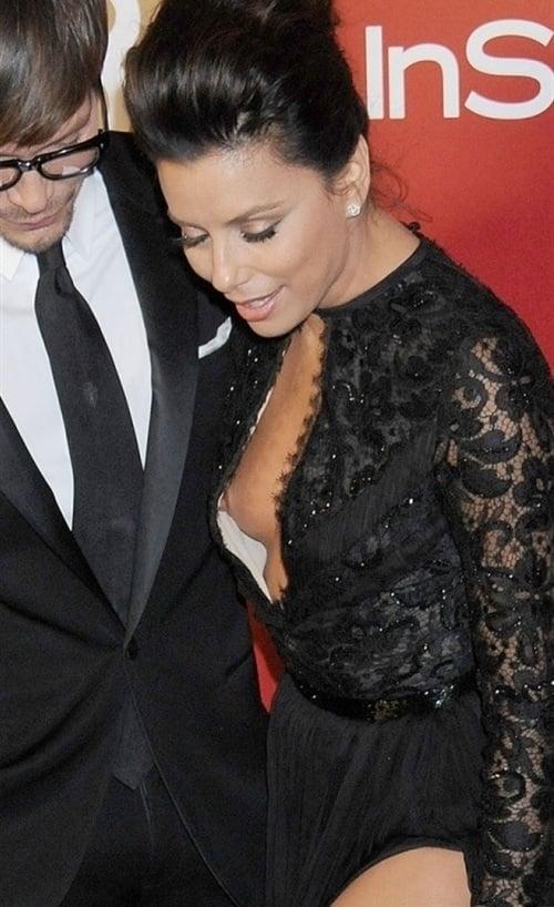Eva Longoria Nip Slip Pic