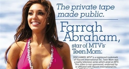 Farrah Abraham sex tape sold