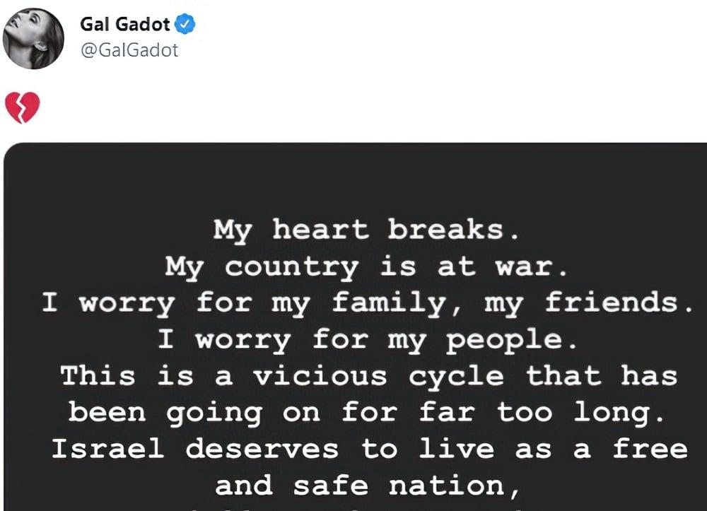 Gal Gadot Sucking Dick To Distract From Israeli War Crimes