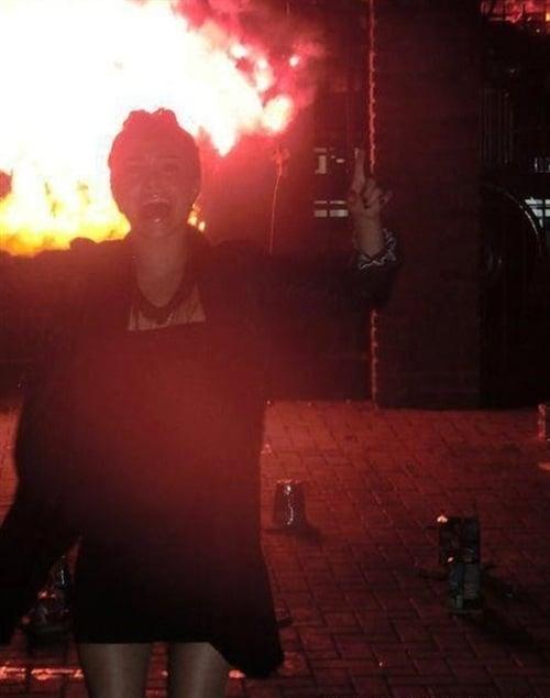Hayden Panettiere Burns Down A Jewish Temple