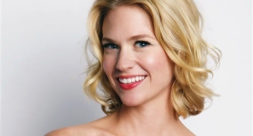 January Jones topless