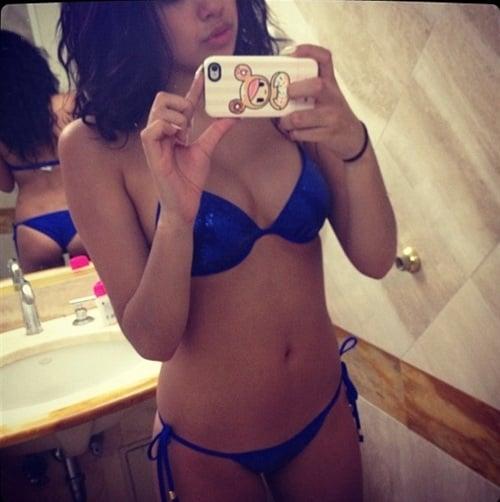Jasmine Villegas Candid Bikini Pic-3109