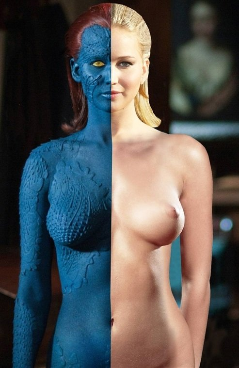 Jennifer Lawrence Mystique