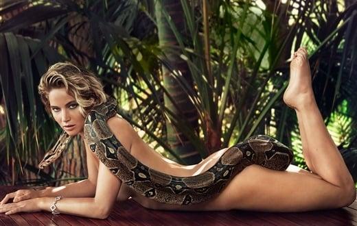 Jennifer Lawrence Naked Snake Sex