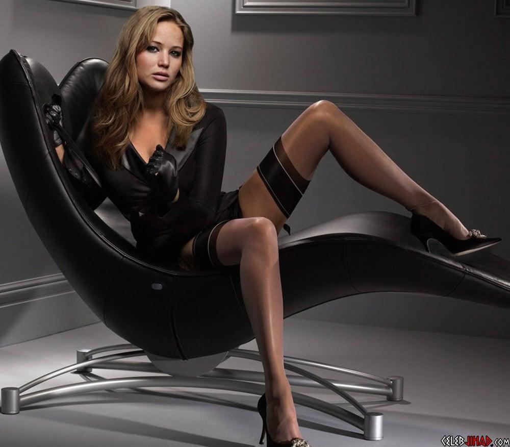 Jennifer Lawrence pantyhose
