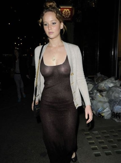 Jennifer Lawrence see through