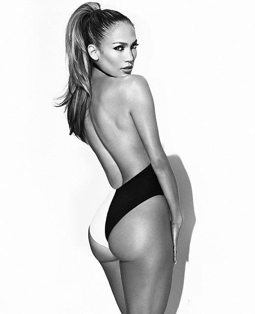Jennifer Lopez is feeling golden in $400 pink bikini