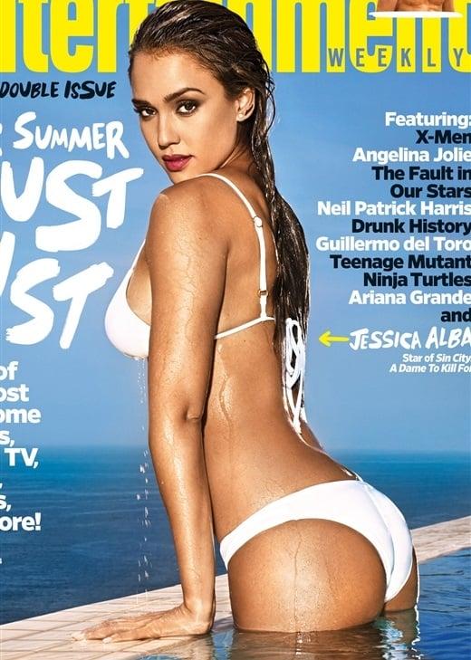 Jessica Alba bikini cover
