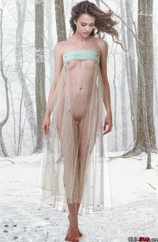 Naked Jessica Alba Pics 11
