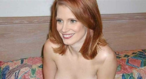 Jessica Chastain Nude Photo Released Before Oscars