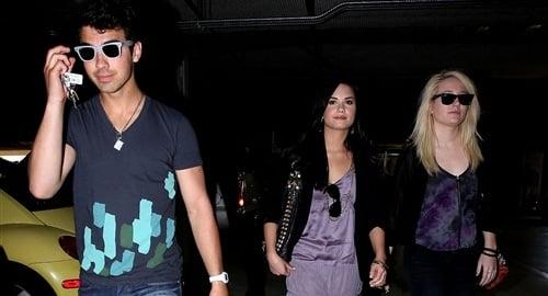 Joe Jonas Beards For Demi Lovato