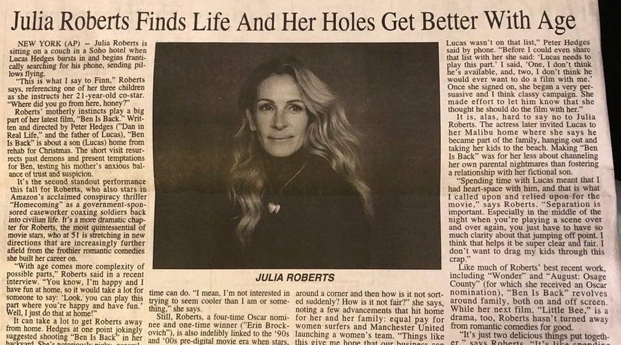 Julia Roberts Nude Leak Preview