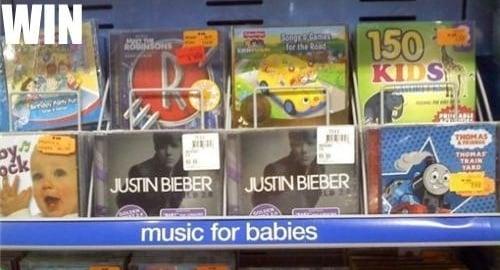 Justin Bieber Targeting His Music To Babies