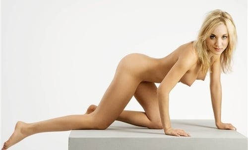 Images - Kaley cuoco poses naked