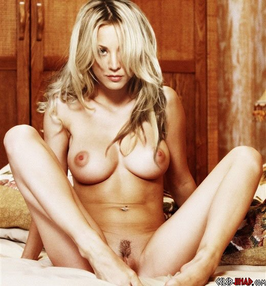 kaley cuoco naked