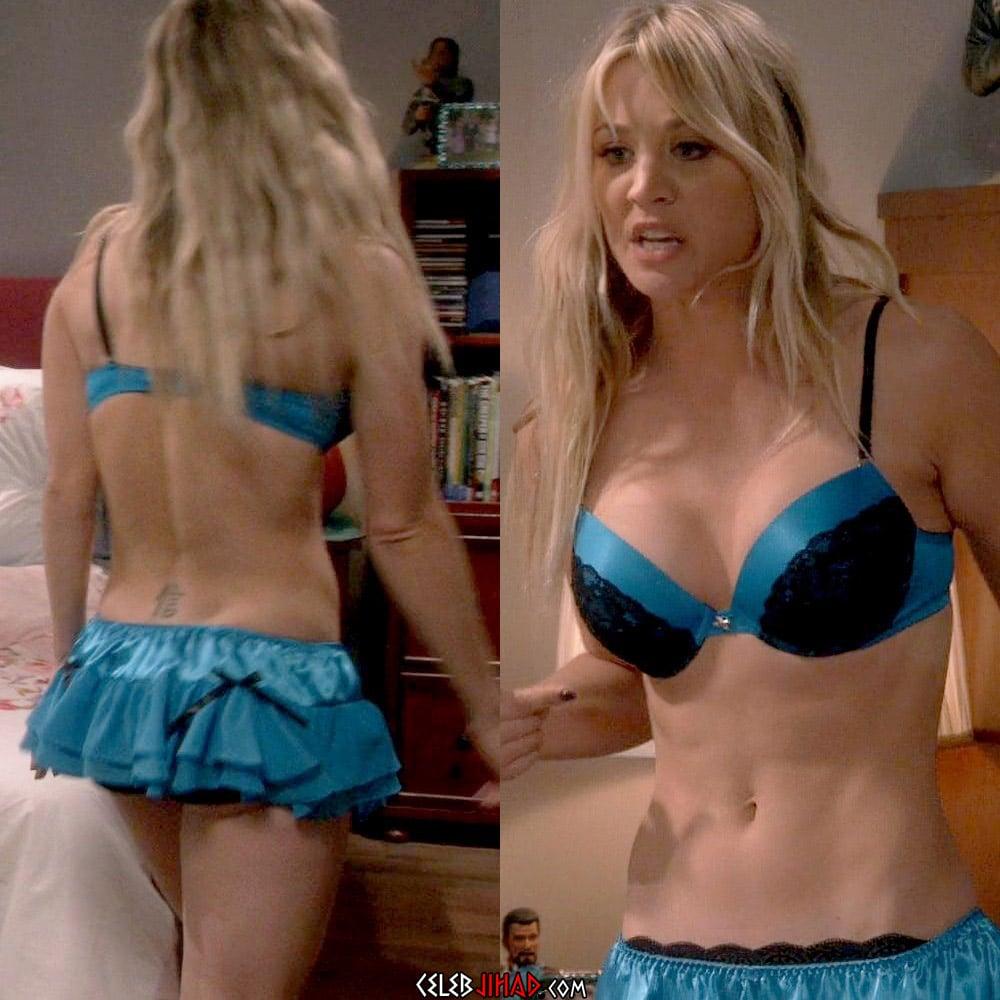 Kaley Cuoco lingerie