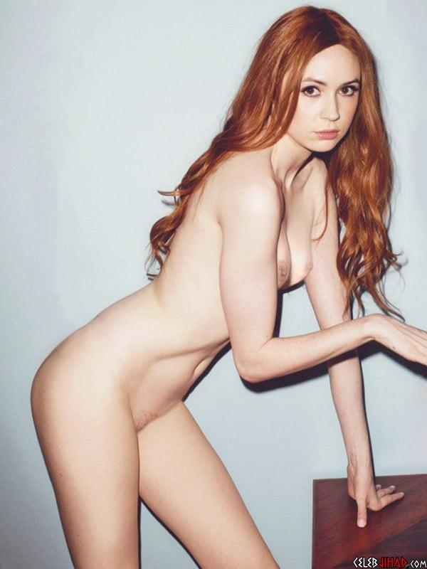 gillan naked Karen
