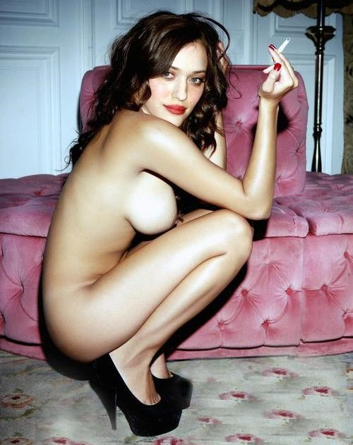 Kat dennings topless pictures — 7