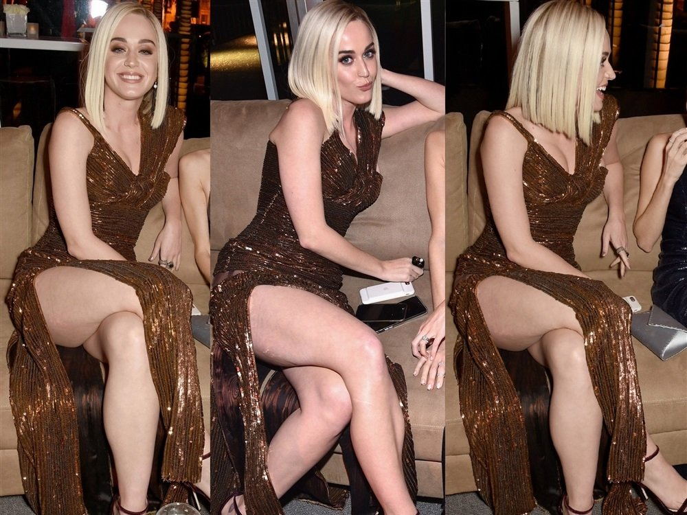 Katy Perry Has More Fun As A Naked Blonde
