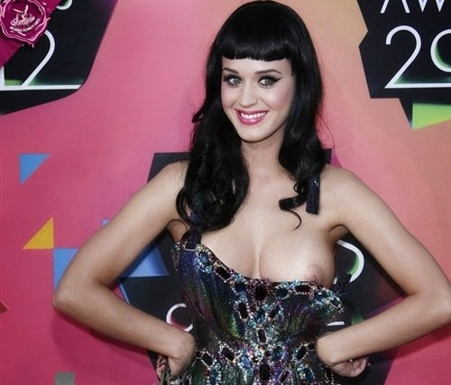 Katy Perry nip slip