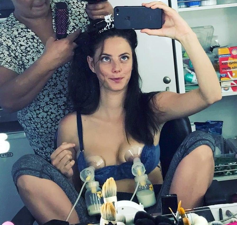 Kaya Scodelario topless
