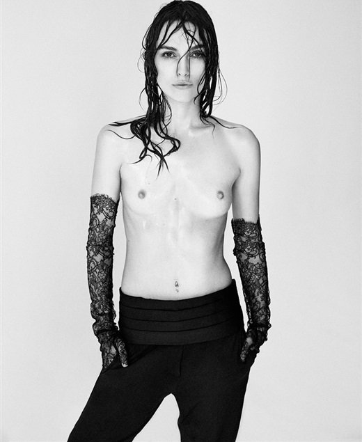 Keira Knightley topless