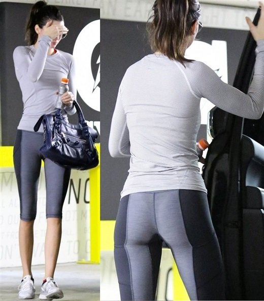 Kendall Jenner booty