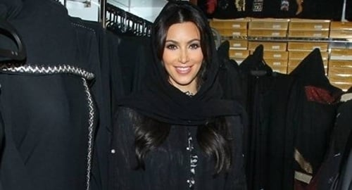 Kim Kardashian Middle East