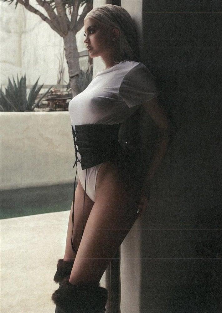 Kylie Jenner nipples