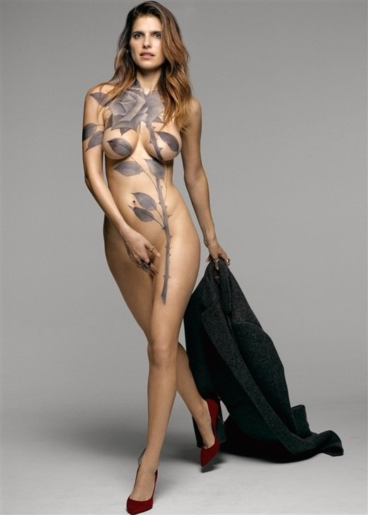 Lake Bell Topless Cell Phone Photo Leaked-8816