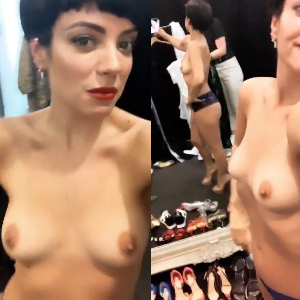 Lily Allen Naked Pussy