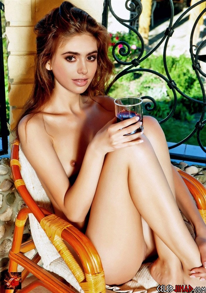 lily jane collins nude