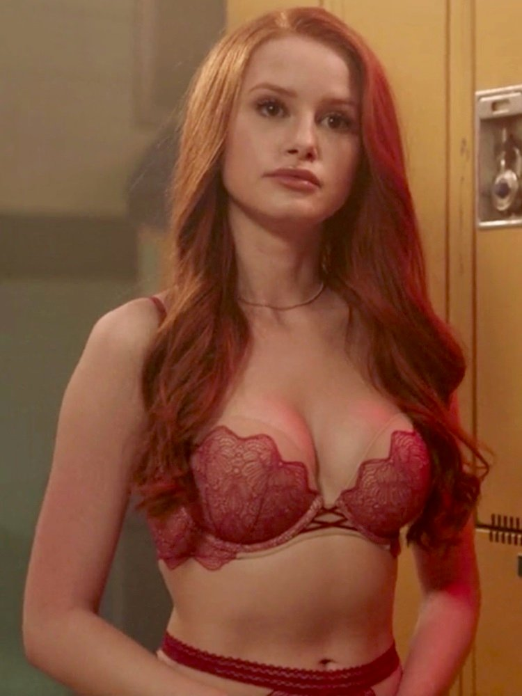 Madelaine Petsch Topless Nude Photos