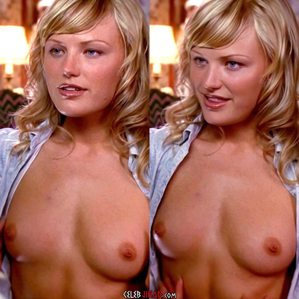 Malin Akerman Topless Nude Scene Enhanced In 4K